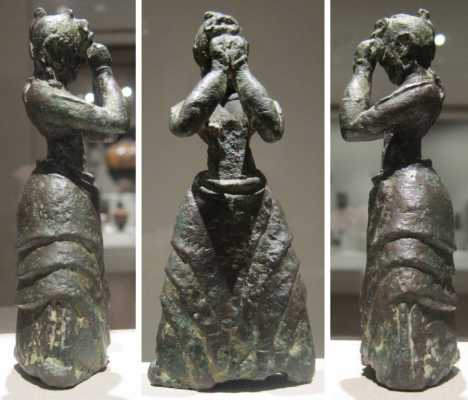 Minoan Ecstatic Postures: Shading the Eyes