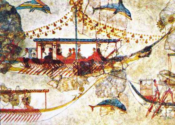 The Blessing of the Ships: A Minoan celebration