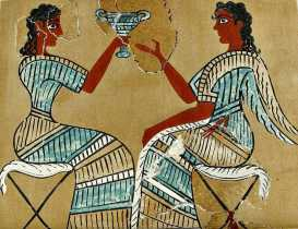 A toast to the Minoans!