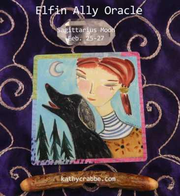 Black Dog: Elfin Ally Oracle for the Sagittarius Moon Feb. 25-27