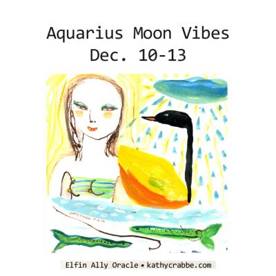 Self Care + Healing Time: Aquarius Moon Vibes Dec. 10-13