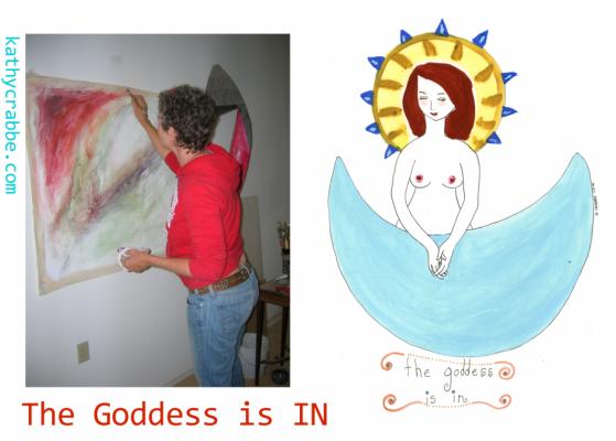 The Goddess Is IN! (Capricorn Full Moon)