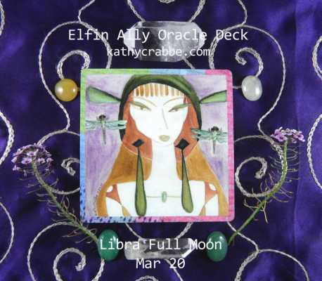 Dragonfly Delite Oracle: Libra Full Moon Mar. 20