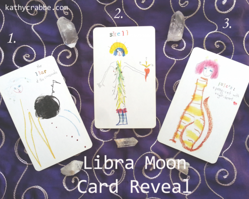 Inner Heart Tribe Healing: Moon in Libra Dec. 28-30 + Lefty Card Reveal