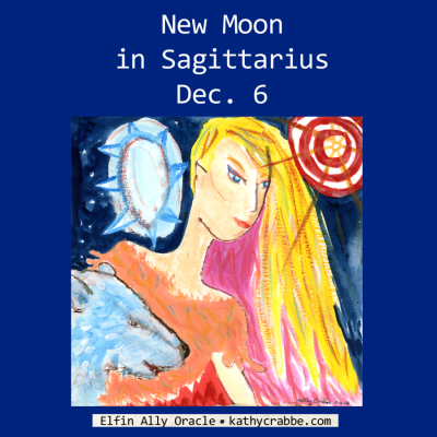 Full Steam Ahead! New Moon in Sagittarius, Dec. 6