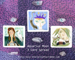 Aquarius Moon 3 Card REVEAL