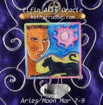 Black Panther Oracle - Aries Moon: Mar 7-9