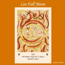 Leo Full Moon: Open Your Heart