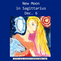 Full Steam Ahead! New Moon in Sagittarius, Dec. 6