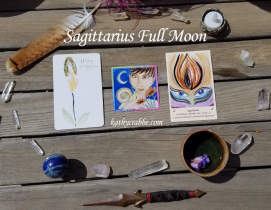 Full Moon in Sagittarius Oracle Reading: I Am Courageous