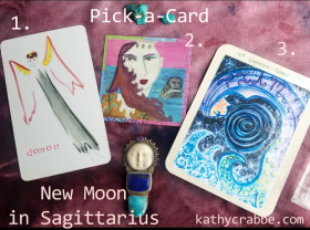 Sagittarius New Moon Oracle Reading + Pick-a-Card
