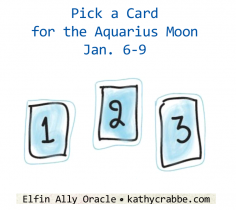 Soul Expanding 3 Card Spread - Aquarius Moon Vibes Jan. 6-9