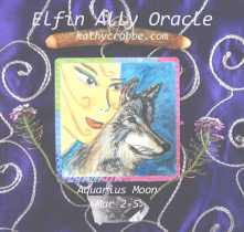 Wolf Oracle: Be Brave (Aquarius Moon)