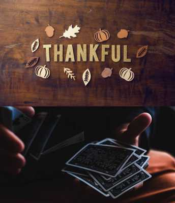 Tarot and the Gratitude Game